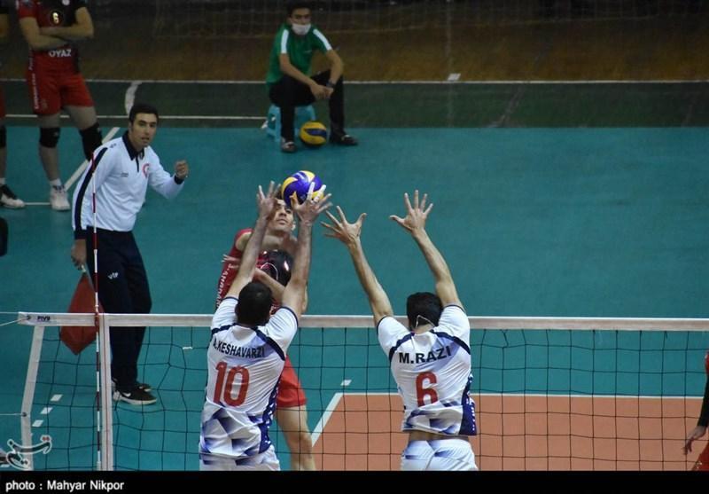 والیبال جام باشگاه های آسیا، پیروزی شهرداری ورامین در اولین دیدار