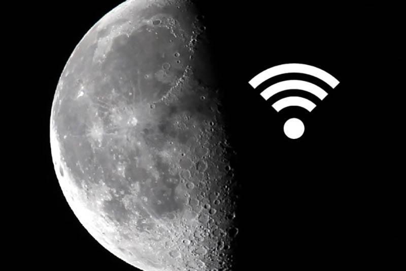 حالا ماه هم هات اسپات وای فای دارد؛ آن هم با سرعت دانلود 622 مگابیت!