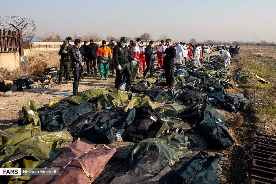 گزارش اولیه بررسی سانحه پرواز هواپیمایی اوکراینی منتشر شد ، دستگاه ثبت اطلاعات پروازی و ضبط صدای کابین خلبان آسیب دیده اند