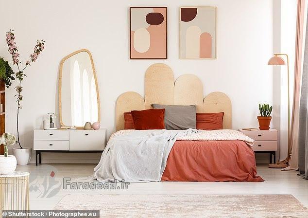 6 ترفندِ تزئیناتی برای بزرگتر کردنِ اتاق خواب که هزینه ندارد
