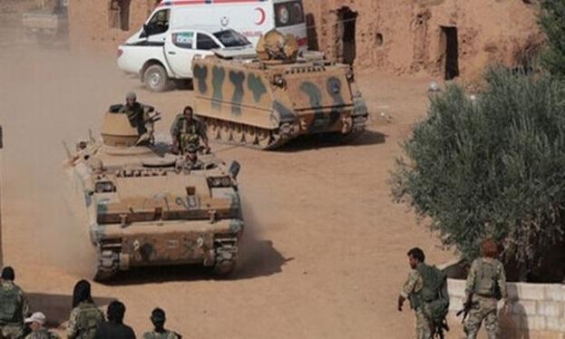 نیرو های ترکیه در حمله موشکی ارتش سوریه کشته و زخمی شدند