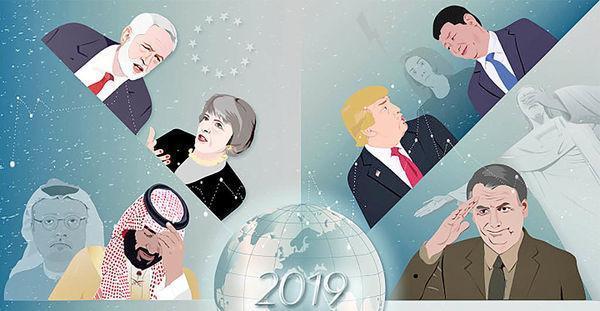 دنیا در سال 2019 به کدام سو می رود؟ آیا ترزا می خداحافظی می نماید؟ تورم در چه عددی می ایستد؟