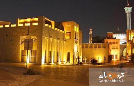 خانه شیخ سعید آل مکتوم؛منطقه اقامتی امن حاکم دبی، عکس
